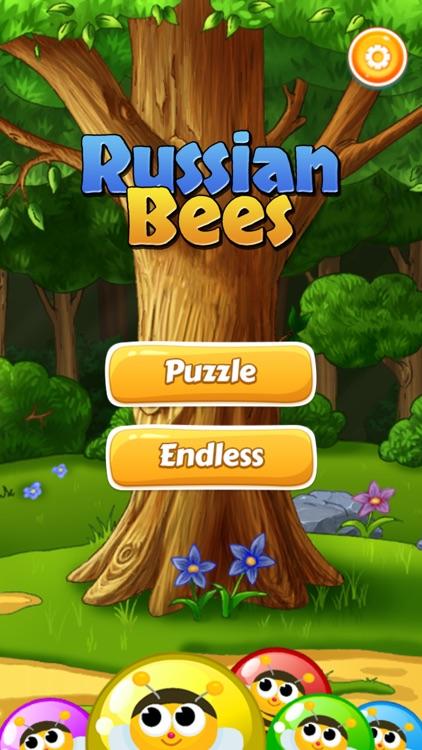 Russian Bees - Bubble Shooter screenshot-4