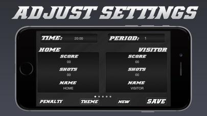 Screenshot for Hockey Scoreboard - Universal Hockey Scorekeeping in Canada App Store
