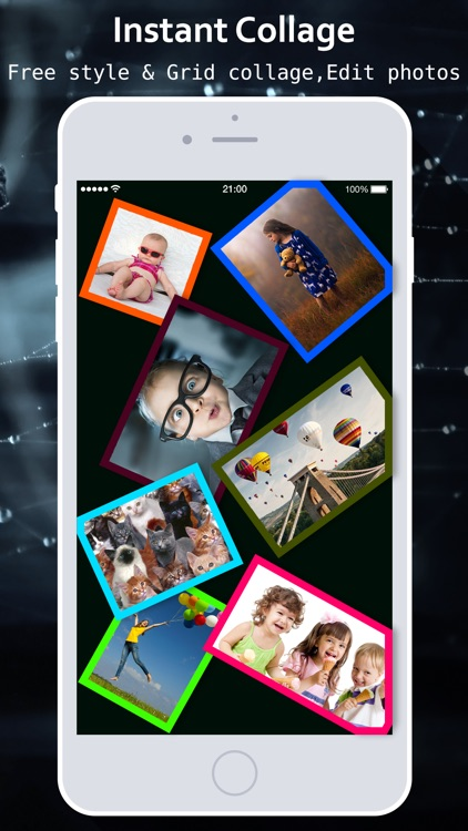 Instant Collage - photo & picture collage maker