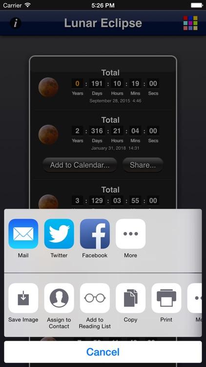 Lunar Eclipse screenshot-4