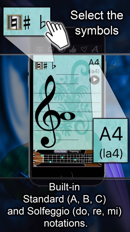 Ukulele Notes Finder screenshot-3