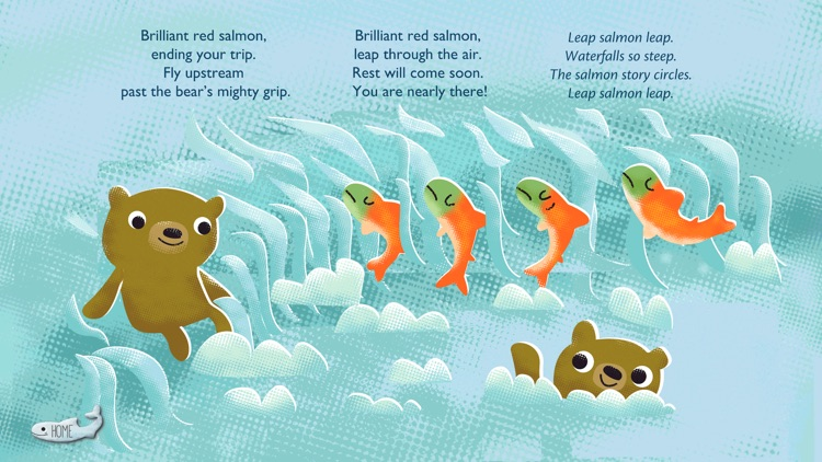 Run Salmon Run with Bobs & LoLo screenshot-3