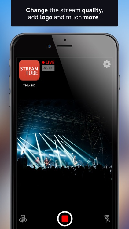 StreamTube Pro - Live Broadcast for YouTube & FB