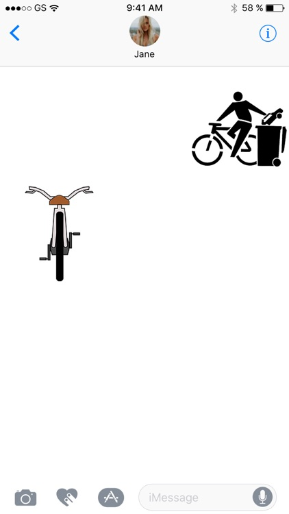 Bikes Two Sticker Pack