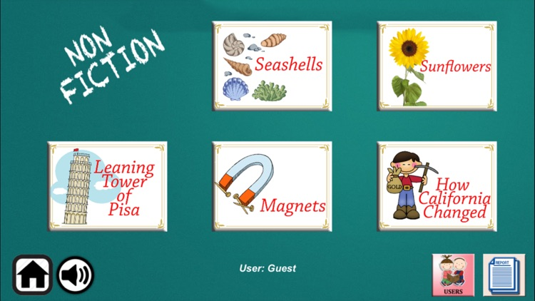 Reading Detectives - A to Z Comprehension Grade 3 screenshot-1