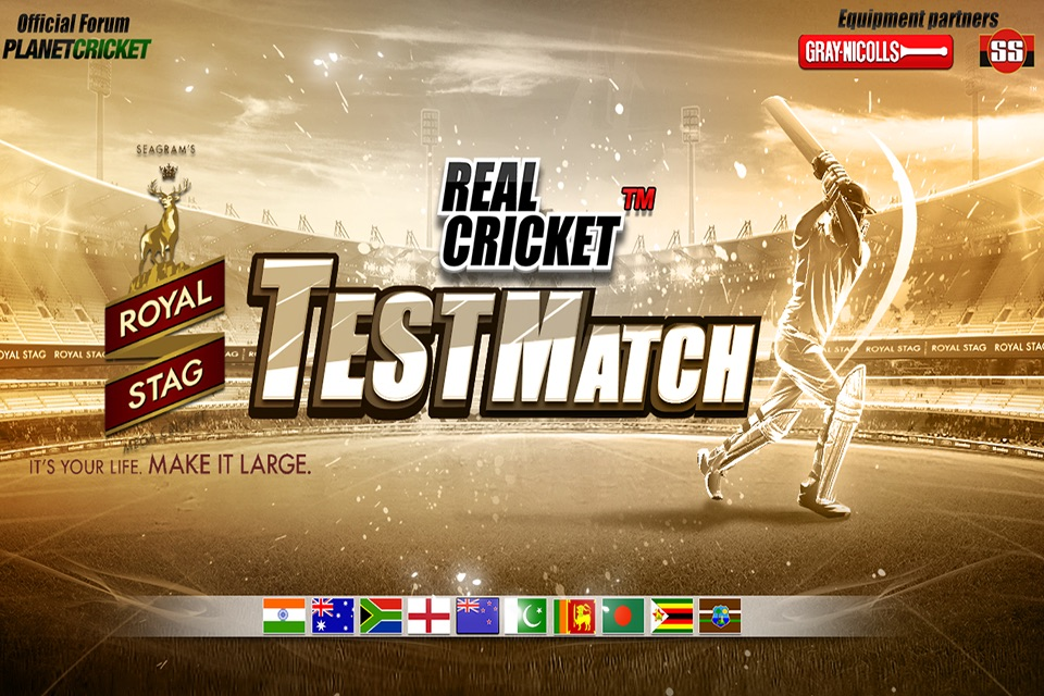 Real Cricket™ Test Match - Online Game Hack and Cheat