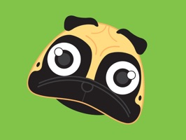 These stickers are for people who are obsessed with Pugs
