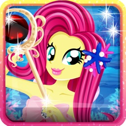 Pony Mermaid Dress Up - Games My Little Girls