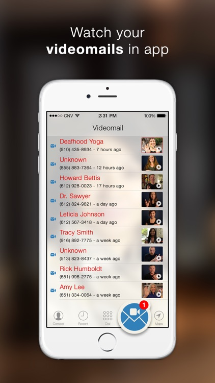 Convo - VRS app by signers