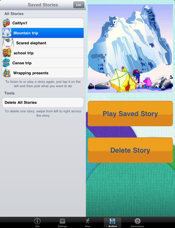 StoryBuilder for iPad screenshot-2