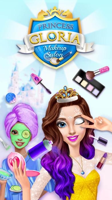 Princess Gloria Makeup Salon - No Ads screenshot 1