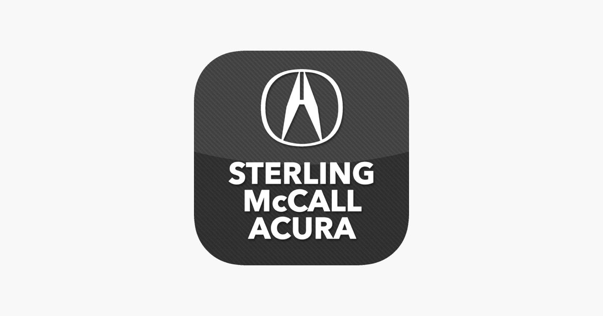 Sterling Mccall Acura >> Sterling Mccall Acura On The App Store