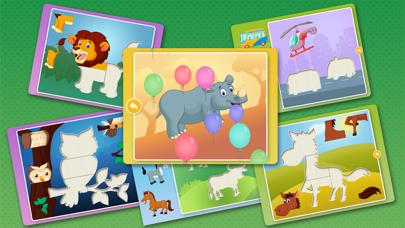 動物パズルゲームのおすすめ画像3