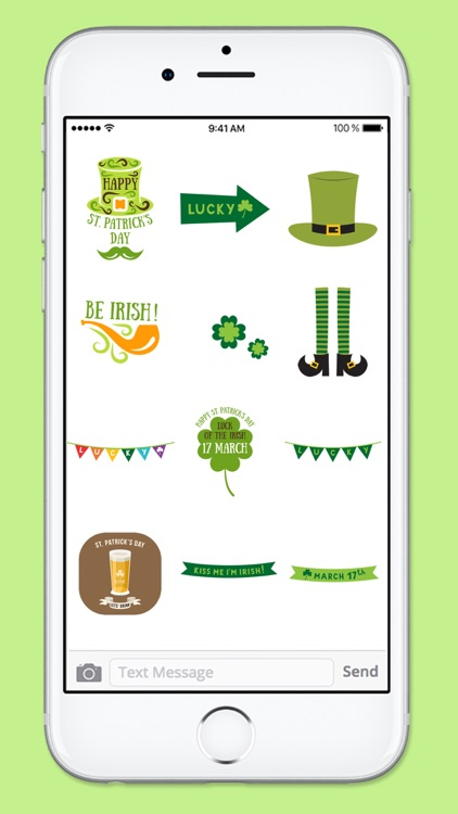 St Pattys Day Stamps Sticker Pack screenshot-4
