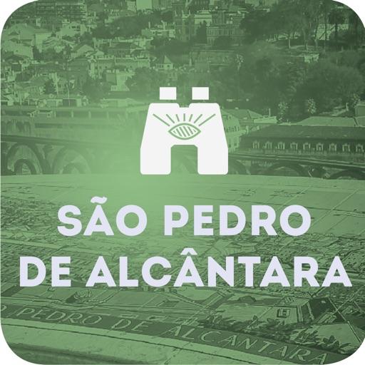 Lookout of São Pedro de Alcântara in Lisbon