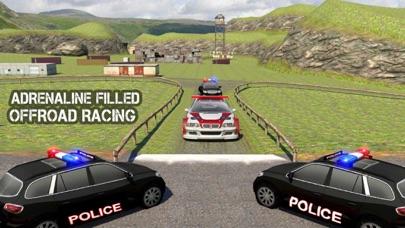 越野警车追逐监狱逃跑赛车游戏 App 截图