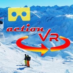 VR Alpine Adventure Skiing Virtual Reality 360