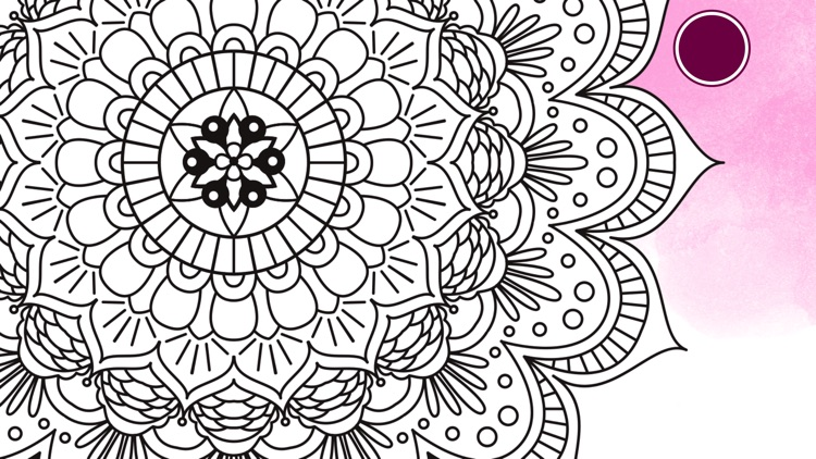 Colouring Line: Coloring Book for Adults and Kids screenshot-3