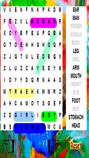 Kids Word Search - 14 X Levels Screenshot