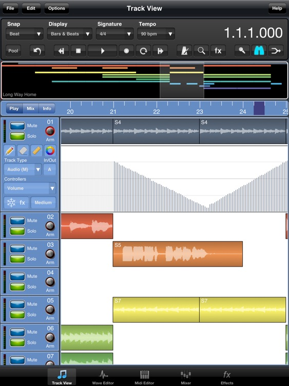 Meteor Lite Multitrack Recorder screenshot-0