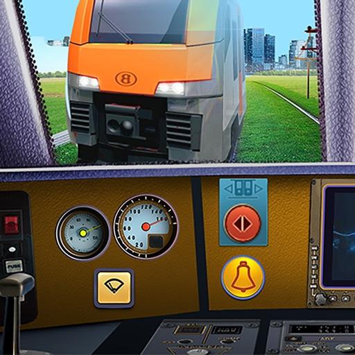 Пассажирский поезд симулятор
