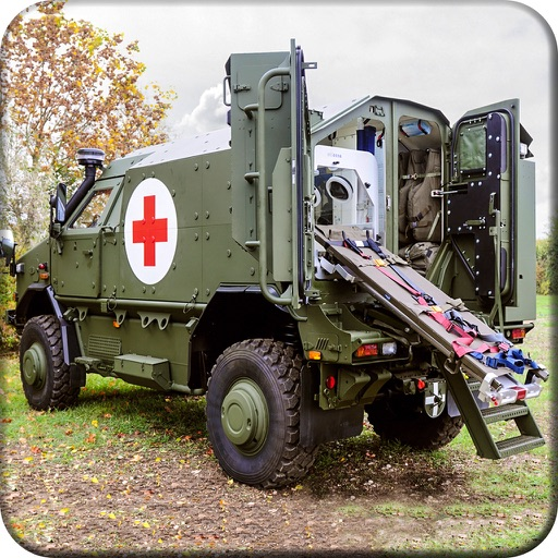 Army Rescue Truck Simulation Pro app logo