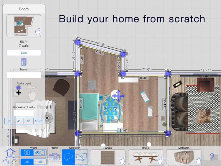 Casa Designer 3D - Home Makeover screenshot-3