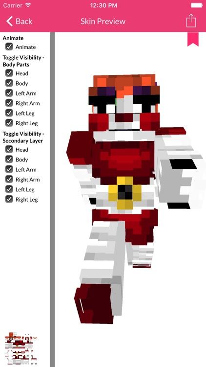 FNAF Skins For Minecraft Edition