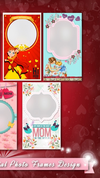 Mother's Day Photo Frames Stickers HD