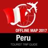 Peru Reiseführer + Offline-Karte