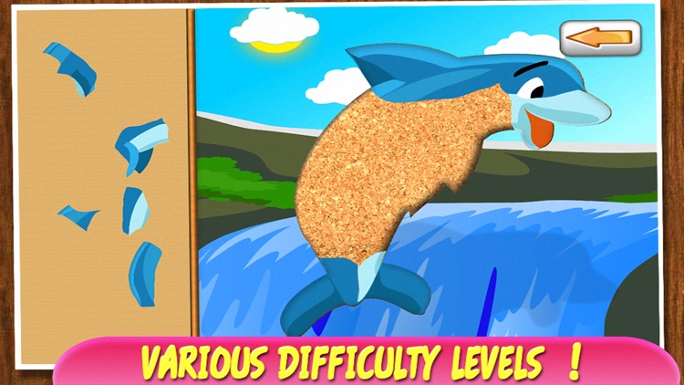 Animal Puzzle for Kids - Preschool Learning Games screenshot-3