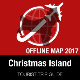 Christmas Island Tourist Guide + Offline Map