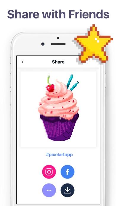 Pixel Art - Color by Number screenshot 5