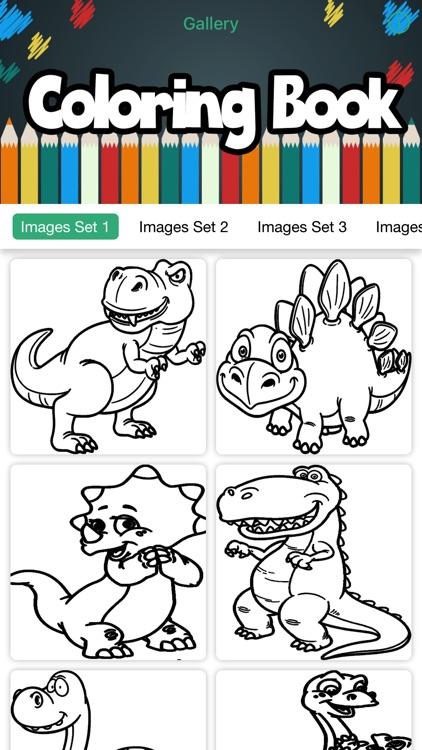Dinosaur Coloring Book Jurassic World For Kids