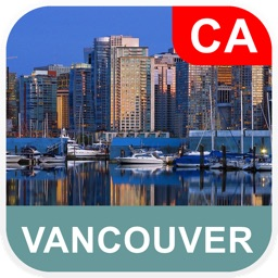 Vancouver, Canada Offline Map - PLACE STARS