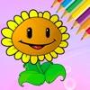 花图画书为孩子 - 绘图免费游戏