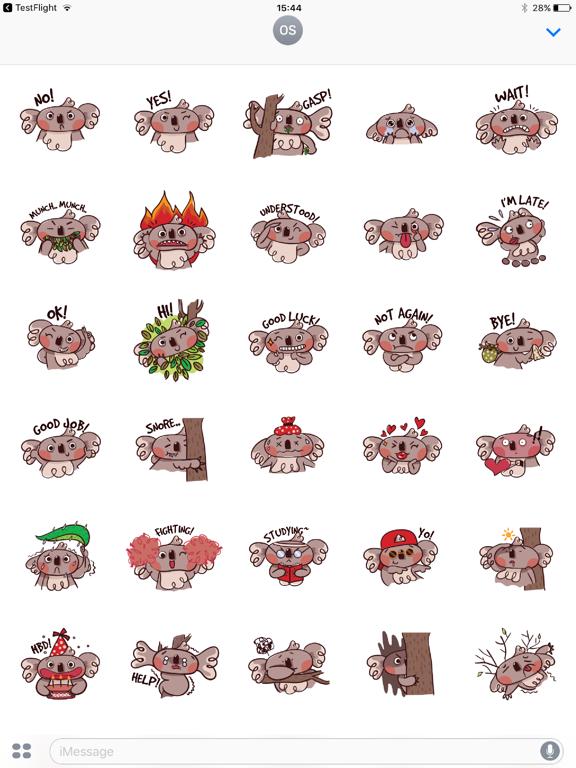 Koala Face Emotions-ipad-0