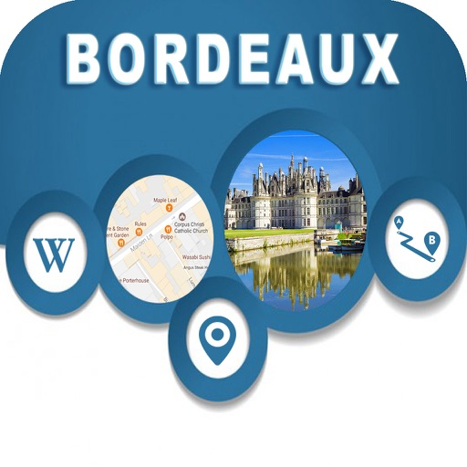 Bordeaux France Offline Map Navigation GUIDE