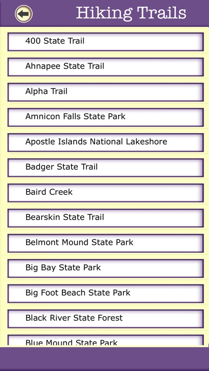 Wisconsin Campgrounds & Hiking Trails,State Parks screenshot-3