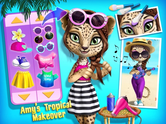 Игра Jungle Animal Hair Salon 2 - No Ads