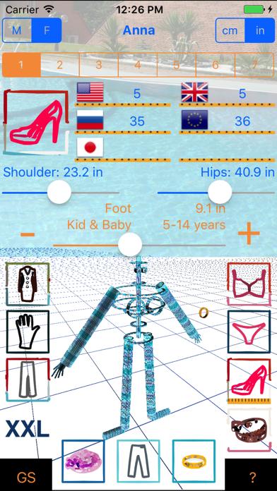 Good Sizer 3d review screenshots