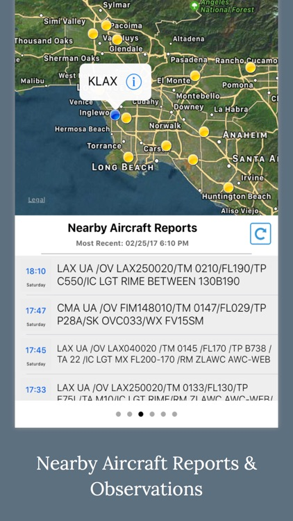 Aviation Weather - METAR & TAFs Data