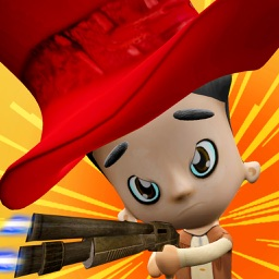 Bandit Kids Shooting - Fun Shooting Games for Kids