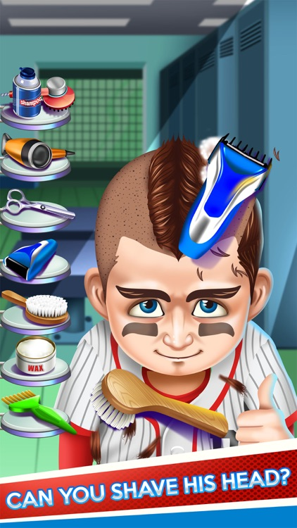 Kids Shave Doctor Salon Sports Game (Boy & Girl)