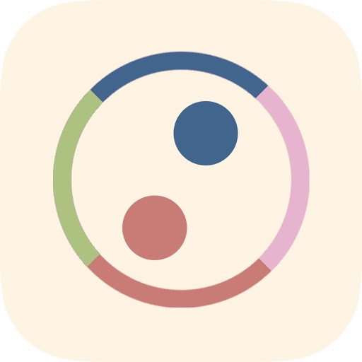 Dot Tap - tap the circle to switch color