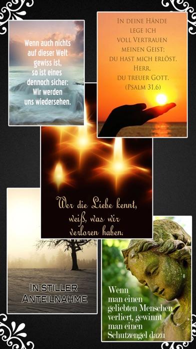 Trauerkarten Beileidskarten Kondolenzkarten TRAUER screenshot 2