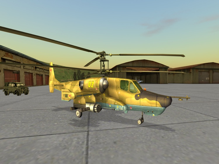 Black Shark HD - Combat Gunship Flight Simulator screenshot-0