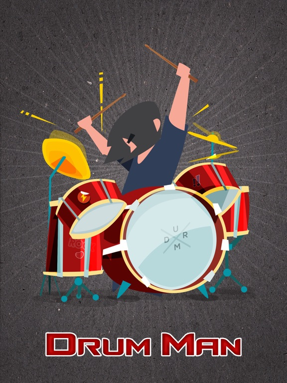 Drum Man - Play Drums, Tap Beats & Make Cool Music-ipad-0