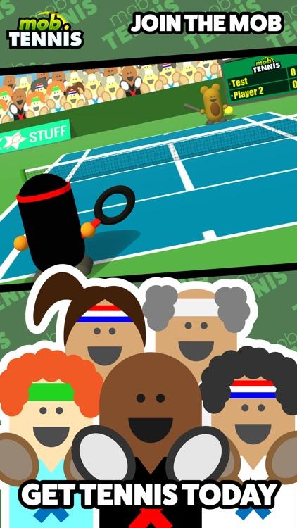 Mob Tennis screenshot-3