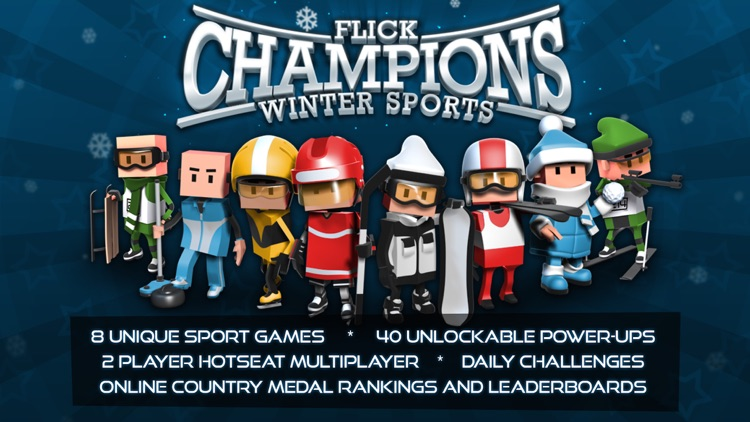 Flick Champions Winter Sports screenshot-0